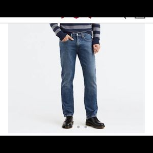 514™ Straight Fit Stretch Jeans - Blue